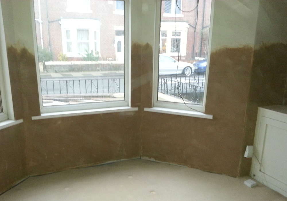 flooring damp proof after