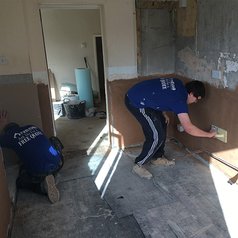plastering north east services